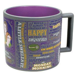 Bronte Sisters Literary 12 Oz Coffee Mug