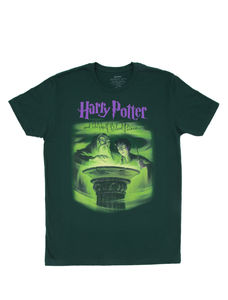 Harry Potter & The Half-Blood Prince Green Unisex Tee Shirt (Large)