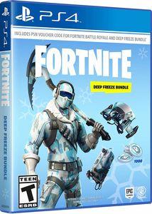 Fortnite Deep Frost Bundle for PlayStation 4