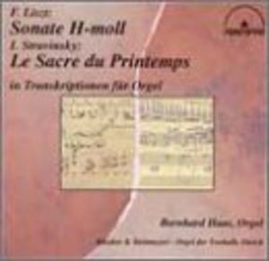Transcriptions for Organ