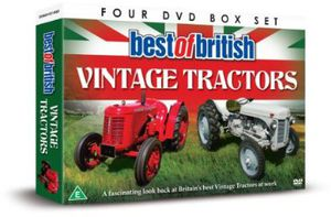 Best of British Vintage Tractors [Import]