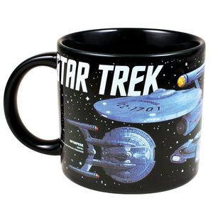 Starships Of Star Trek 12 Oz Coffee Mug
