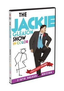 The Jackie Gleason Show: In Color (3-DVD Deluxe Edition) , Jackie Gleason