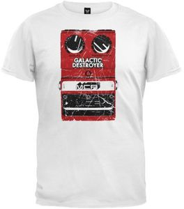 Galactic Destroyer T-Shirt White - XL