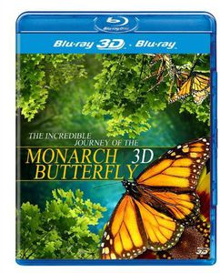 Incredible Journey of the Monarch Butterfly 3D [Import]