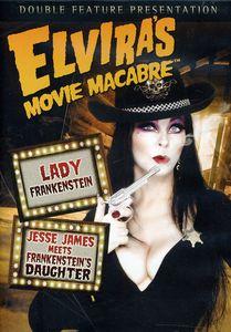 Elvira's Movie Macabre: Lady Frankenstein /  Jesse James Meets