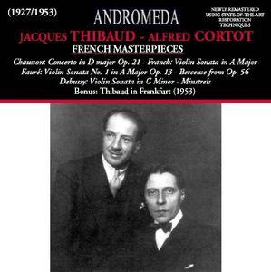 Jacaues Thibaud & Alfred