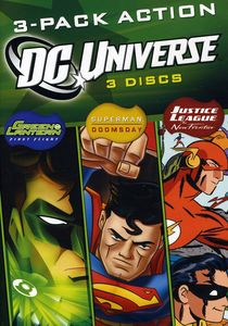 DC Universe: 3-Pack Action