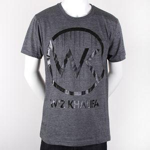 WK Logo Drip Mens Slim Fit T-Shirt - XXL