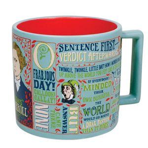 Lewis Carroll 12 Oz Coffee Mug
