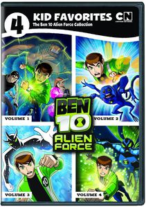 4 Kid Favorites: The Ben 10 Alien Force Collection