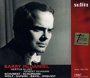 Barry McDaniel Sings Schubert & Schumann & Wolf