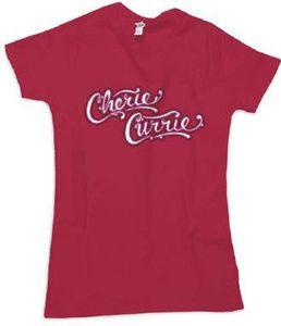 Cherie Currie Logo Tee