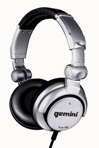 Gemini DJX-05 Professional DJ Headphones50Mm Driversfoldable W/ 1