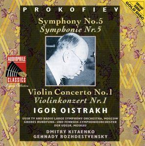 Prokofiev: VLN Cto No 1 /  Sym No 5