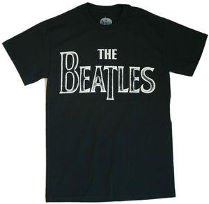 The Beatles Back To Basics Black Adult - XL