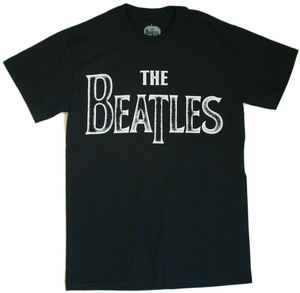 The Beatles Back To Basics Black Adult - XL