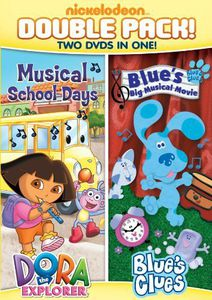 Dora and Blue's Clues Double Feature: Dora Musical School Days /  Blue'sBig Musical Movie