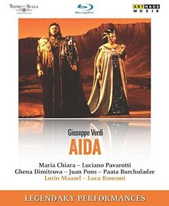 Aida - Teatro Alla Scala Milan 1985