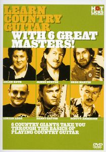 Learn Country Guitar With 6 Great Masters