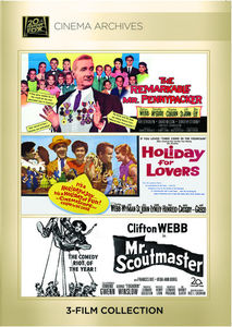 The Remarkable Mr. Pennypacker /  Holiday for Lovers /  Mister Scoutmaster
