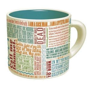 The Greatest First Lines Literature Ever12 Oz Coffee Mug