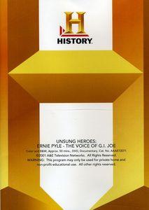 Ernie Pyle: The Voice of G.I. Joe