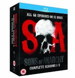 Sons of Anarchy-Seasons 1-5 [Import]