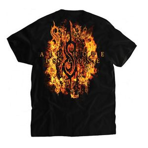 Slipknot Radio Fire (Mens /  Unisex Adult T-Shirt) Black, SS [Small] Front Print Only