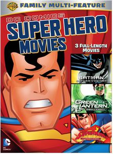 DC Comics Super Hero Movies: 3 Full-Length Movies