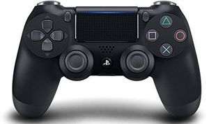 Sony DualShock 4 Controller: Jet Black for PlayStation 4