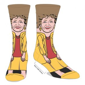 Golden Girls Blanche 360 Crew Socks Unisex /  Men's 8-12