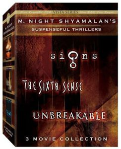 M. Night Shyamalan's Suspenseful Thrillers: 3 Movie Collection