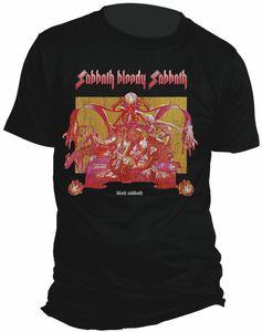 Black Sabbath Sabbath Bloody  Sabbath (Mens /  Unisex Adult T-Shirt) Black, SS [XXL] Front Print Only