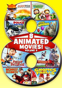 8 Feature Compilation - Kids Animated - Volume 3
