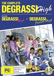 The Complete Degrassi High: Including Degrassi Junior High & Degrassi High 1986-1991 [Import]