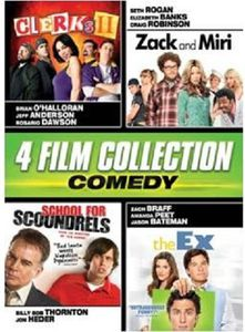 Comedy Quad (Clerks II /  Zack and Miri /  School for Scoundrels /  The Ex)