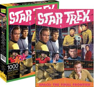 Star Trek Retro 1,000pc Puzzle