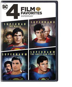 4 Film Favorites: Superman