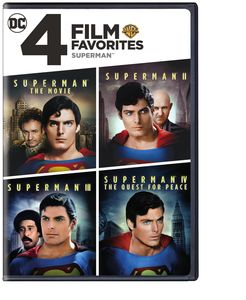 4 Film Favorites: Superman
