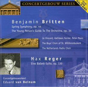 Britten: Spring Symphony /  Young Person's Guide