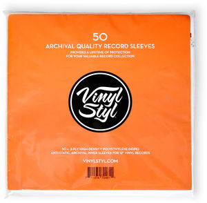 Vinyl Styl™ Archive Quality Inner Record Sleeve