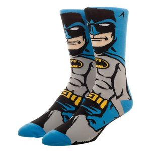 DC Comics Batman 360 Crew Socks Men's 8-12