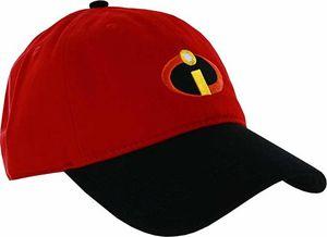 Incredibles Red & Black Adjustable Baseball Cap