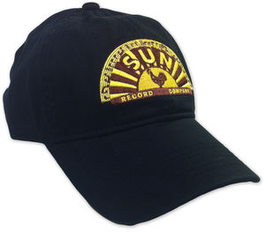 Sun Record Company Low Profile Adjustable Baseball Cap