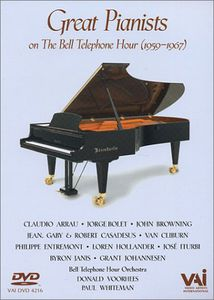 Great Pianists Bell Tel Hour 1959-1967