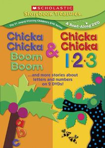 Chicka Chicka Boom Boom & Chicka Chicka 1-2-3...And More Stories About Letters and Numbers on 2 DVDs!