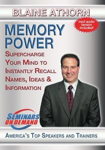Memory Power: Supercharge Your Mind To Instantly Recall Names, IdeasAnd Information