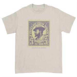 Thelonious Monk The Unique Album Cover Artwork Cream Heavy CottonStyle T-Shirt (Medium)