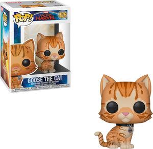FUNKO POP! MARVEL: Captain Marvel - Goose the Cat